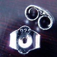 DIY Jewelry Earring Findings-925 Sterling Silver Earring Stopper+Gift&Free Shipping!!!