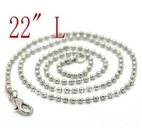 Free shipping!!fishion jewelry 22cm silver chain alloy clasp don't fade in color(HOT ON SALE)