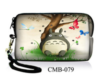 Cute Totoro  Digital Camera Case Bag Pouch+Strap For Nikon Coolpix S3000 S6000 S4000