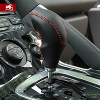 Free Shipping Carshow pulchritudinous 3008 genuine leather car gear sets cover citroen c4 l gears sets