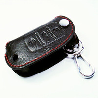 In stock NEW For VW Car Remote KEY Case Holder Leather Cover 3 Button Fit Volkswagen POLO Beetle
