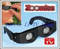 Free FedEx Shipping (200pcs/lot) New Zoomies As Seen On TV Hands Free Binoculars