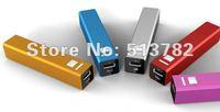 2200mAh  Universal Portable USB Power Bank charger for Mobile Phone free shipment