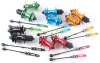 Quantum QUANDO 32h multicolour mountain bike disc brakes hubs v brake hubs drum axle