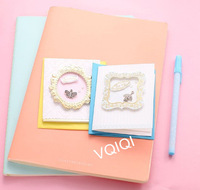 Style 1804 Mini White Paper Greeting Card