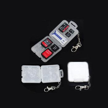 Cartridge sd minisd mmc sim m2 tf usb flash drive memory card box storage box protection case