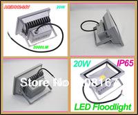 20W LED Floodlight Warm White Cool White AC/DC 12V Waterproof Led Floodlight Outdoor Lamp 20pcs/lot FL-101