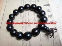 Ebony bracelets 1.5 cm Vietnam ebony beads ebony beads bracelet free shipping chinese