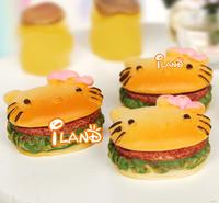 iland 1:6 Scale Food Breakfast Fastfood Hamburger For Barbie Dolls 3PCS