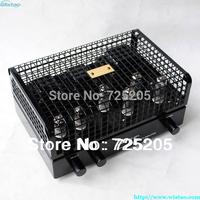2X12W HIFI Tube Amplifier 6N1x2 Pre-amplifier 6P1x4 Class A Pull-Push Amplifier Circuit Pure Tube Black