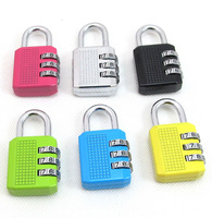 Outdoor metal fashion code lock multicolour password padlock