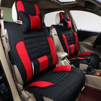 Linen fabric car summer cushion sandwich autumn and winter car mats four seasons general seat sedan supplies