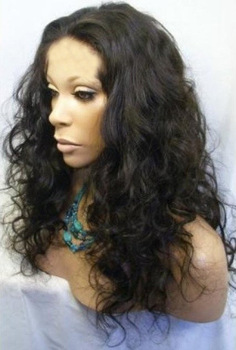 ree shipping >>>Healthy Malaysian Curly Imitate Human Remy Hair Full no Lace Wig