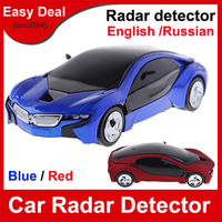 Universal Car Radar Detector Russina English Voice Detector Alarm Speed Control Detector Free Shipping