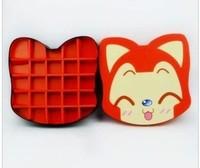 New 1 X DIY handmade chocolate packaging gift boxes of candy box 23 chocolate box ali cat box