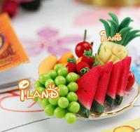 iland 1/12 Dollhouse Miniature Pineapple Watermelon Grape many Fruits