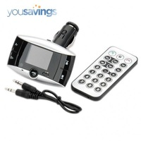 "1.4"" LCD Car Bluetooth MP3 Player FM Transmitter with Caller ID Handsfree"