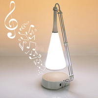 LED Touch Sensor Table Lamp with Mini Speaker Novelty Lighting Kid's Gift