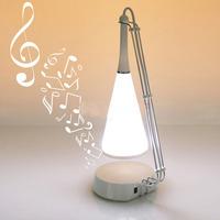 LED Touch Sensor Table Lamp with Mini Speaker Novelty Lighting Kid's Gift