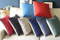 Nordic Simple Monochrome Series 8 Colors Linen Cotton Cushion Cover Home Decorate Sofa Pillow Case 8 Choose 1pcs