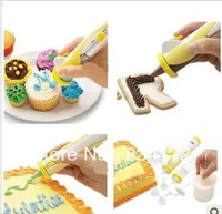 1 X DIY baking tools wholesale electric decorating pen crowded sauce pen piping is crowded flowers, cake decoration mold