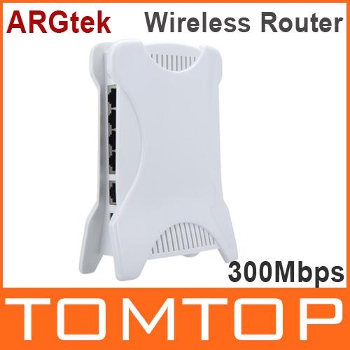 ARGtek Wireless-N Router Wifi Router AP Repeater Bridge WLAN 802.11b/g/n 300Mbps 1000MW 2T2R POE White(China (Mainland))
