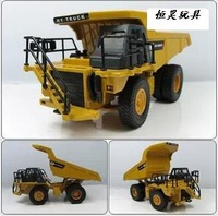 Huayi dump truck alloy engineering car model toy car heavy duty dump truck