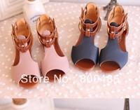 2013 child girls summer shoes princess shoes fashion gladiator sandals