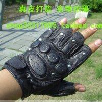 Promotion ! Sheepskin semi-finger belt professional safety gloves tactical gloves ty0801