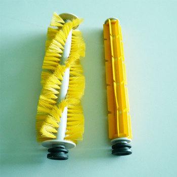 Robot Vacuum Cleaner accessories ,Sider Brush,Hair Brush,Rubber Brush.Fittings