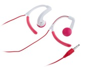 Freeshippping 3.5mm Plug Earhook Headphone,On Ear Clip Sport Earphones For ipod MP3 MP4 Player,sport earphone ,4colors