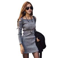 2014 Autumn Women's Slim Sexy Strapless Fall Club Dress M,L,XL 2Color #Z002