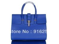 2013 Luxury Women Fashion Branded Tote Bag Genuine Leather  Women Messenger Bag