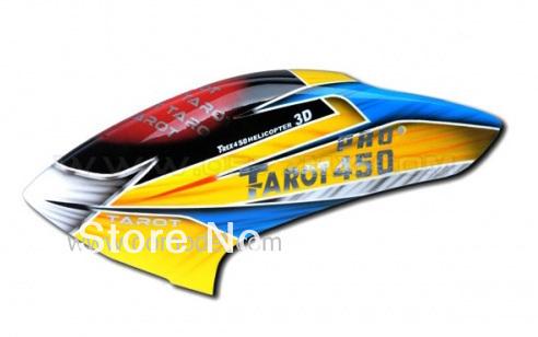 Таро 450 Pro V2 Запчасти Высокое Качество Стекловолокна Canopy TL4302 Таро 450 PRO части бесплатная доставка с отслеживанием esspero canopy