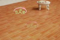 iland 1:12 Dollhouse Miniature Decoration Living Room Bedroom Flooring Cherry Wood Floor