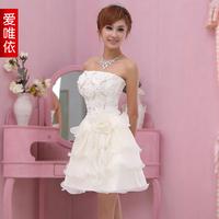 Love formal dress costume small short skirt princess formal dress short birthday formal dress
