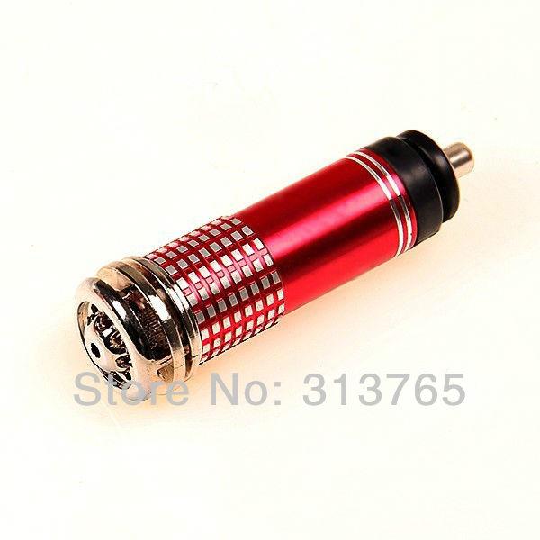 New 2014 Original Portable Oxygen Bar Car Ionizer Air Freshner Perfume Auto Purifier LED Light 12V Ozone Ionizer Cleaner(China (Mainland))