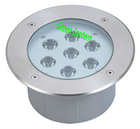 7w led underground lamp round waterproof ip68
