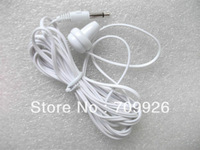 Disposable  earpbuds/ headphones , low cost single side earbuds for for TV or radio listening/3000pcs/lot