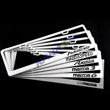 Mazda 3 5 MAZDA 6 aluminum alloy framework license plate license plate frame license plate frame