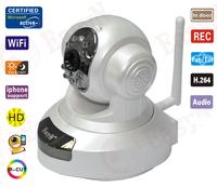 EasyN H3-186V Wireless IP Camera WiFi IR LED Security System