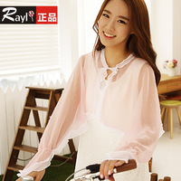 Sun cape long-sleeve women's sun-shading clothing anti-uv si449