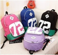 New Arrival Korea's lady Casual bag student travel sports Trinket graffiti school bag backpack  women's high quality canvas bag