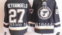 Free Shipping cheap china brand sport jerseys Authentic ice Hockey Jerseys vintage Men's St Louis Blues #27 PIETRANGELO Blue