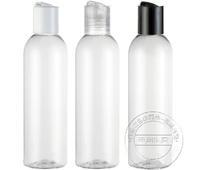 20pcs Chiaki 200ml transparent plastic bottle sub-bottling cosmetic bottle plastic pet , lw-d-200d