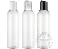 20pcs Chiaki 200ml transparent plastic bottle sub-bottling cosmetic bottle plastic pet , lw-d-200d