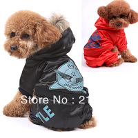 Free Shipping 2013 Wadded Jacket Dog Clothes Autumn And Winter Thickening Pet Clothes Teddy