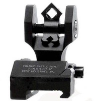 Troy industries aperture Di-Optic folding rear back-up sight Folding battle sight free shipping