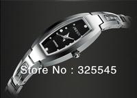 Genuine watches Interval Rose Gold Ladies Watch Tungsten Steel Ladies Watch Korean diamond bracelet watch waterproof