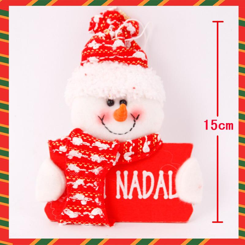 Christmas decoration supplies christmas tree 15cm christmas doll(China (Mainland))